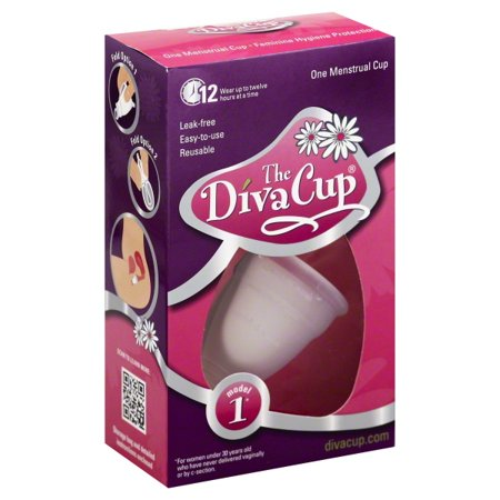 Diva Cup Diva Cup 1 Pre Childbirth (Packaging May Vary) (Diva Sonnenbrille)