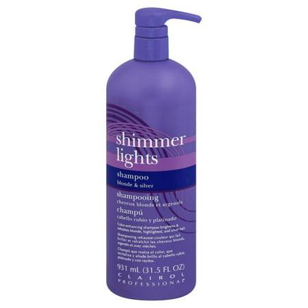 Clairol Professional Shimmer Lights Shampoo 31.5 FL OZ - Clairol White Shampoo