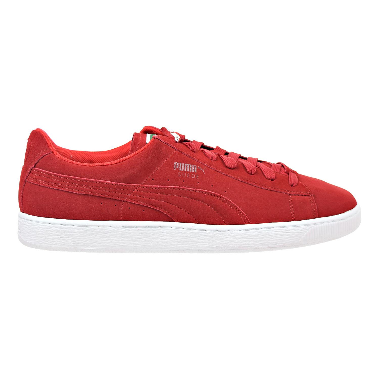 Puma Suede X Trapstar Mens Shoes Barbados Cherry/White361...