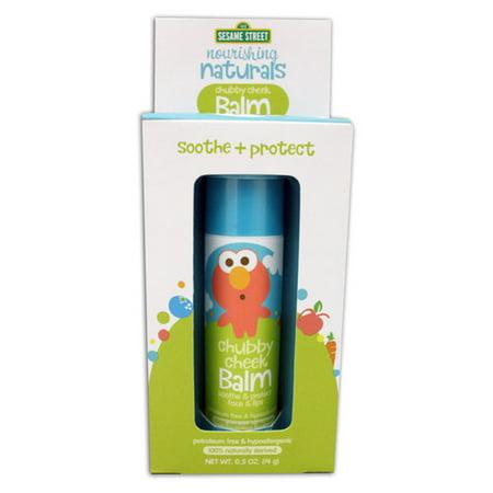 Sesame Street Nourishing Naturals Chubby Cheek  Lip & Face Balm (Nourishing Balm)