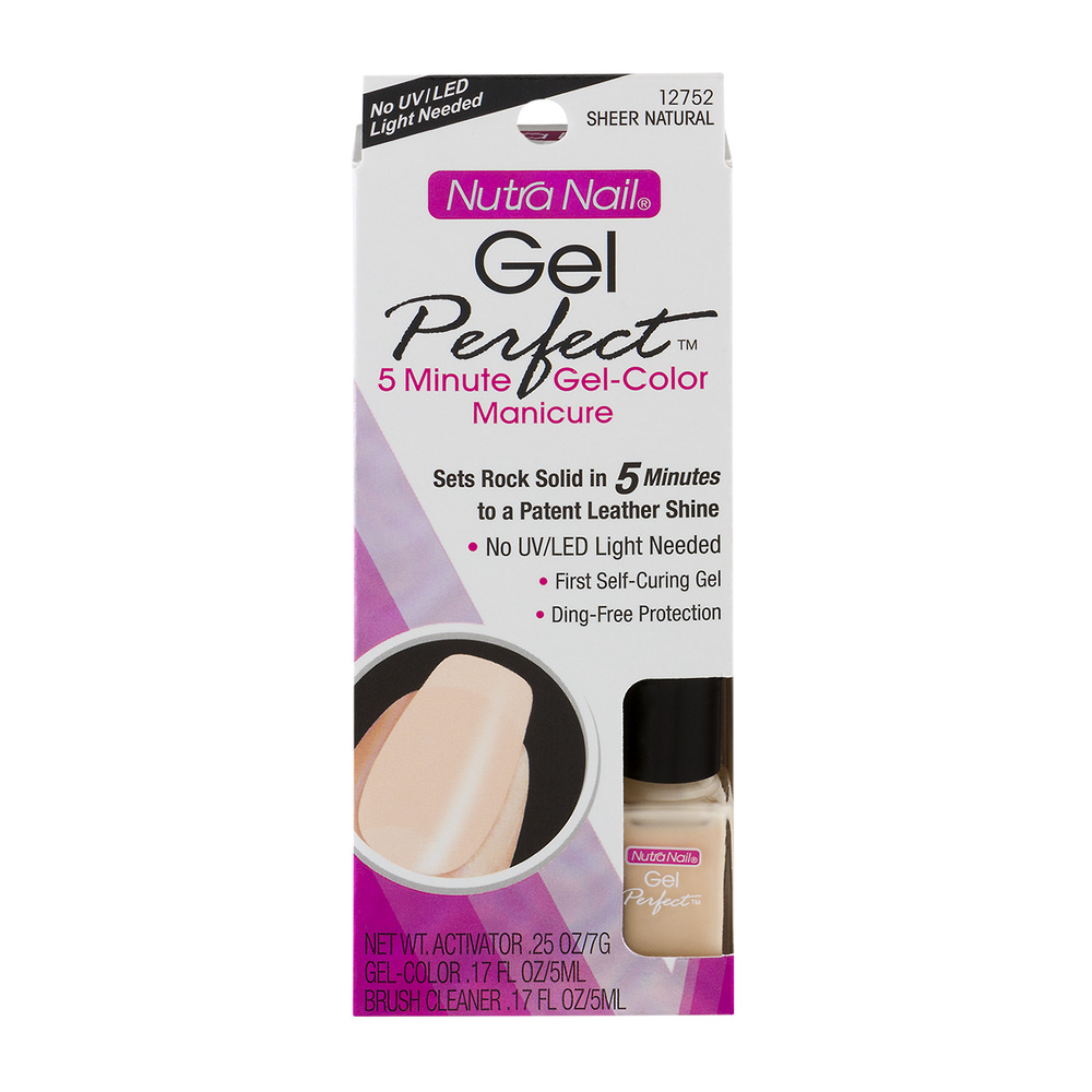 Nutra Nail Gel Perfect Manicure 12752 Sheer Natural, 1.0 KIT