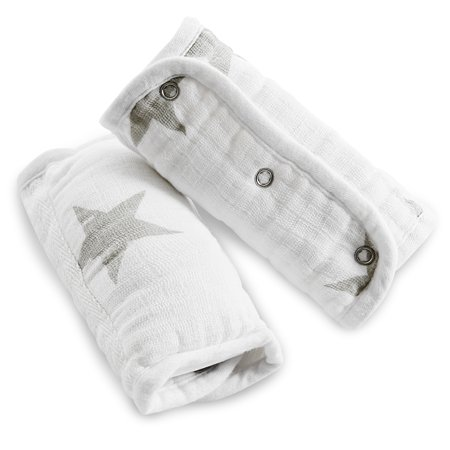 Baby Strap Cover - aden by aden + anais strap cover 2 pack, dusty