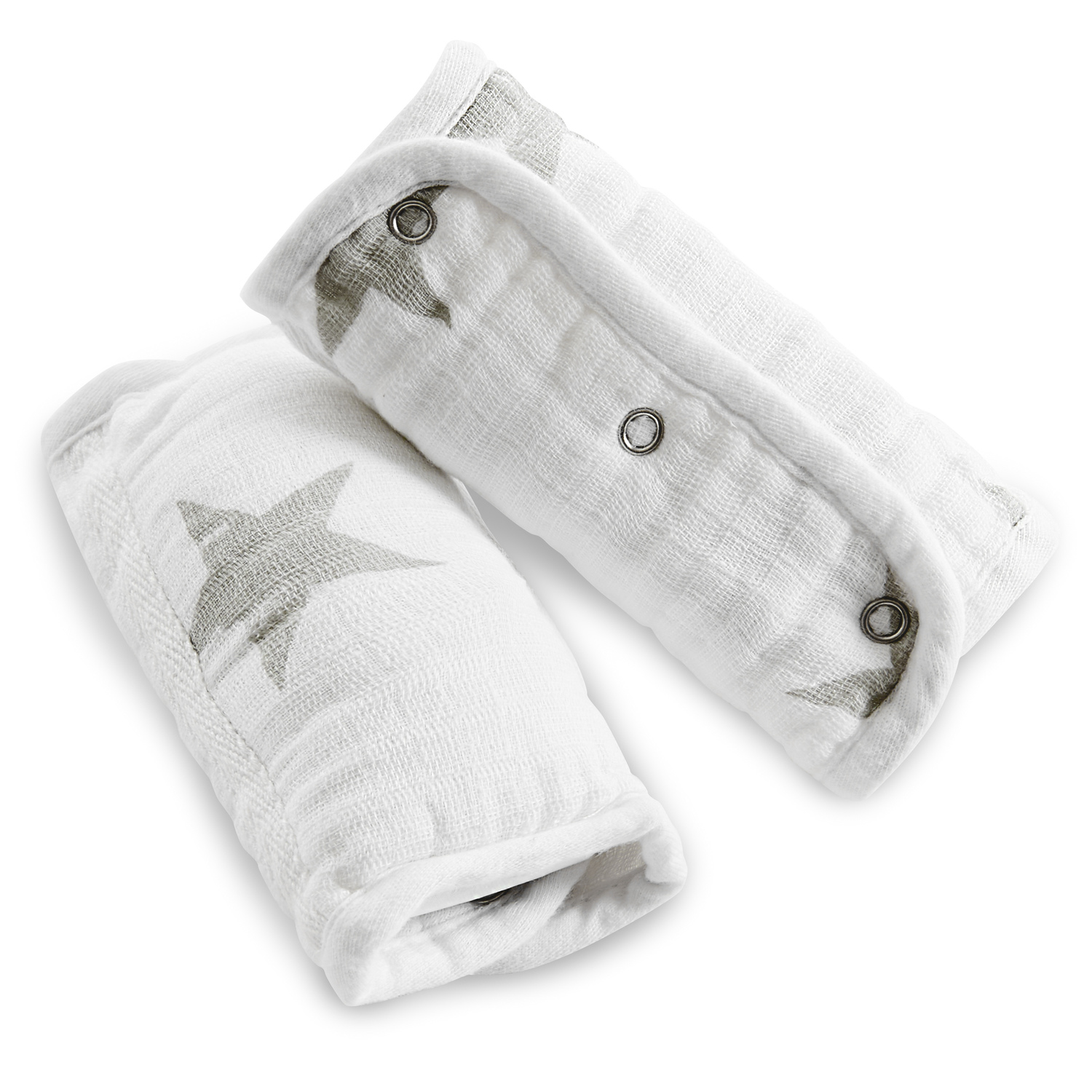 aden by aden + anais strap cover 2 pack, dusty