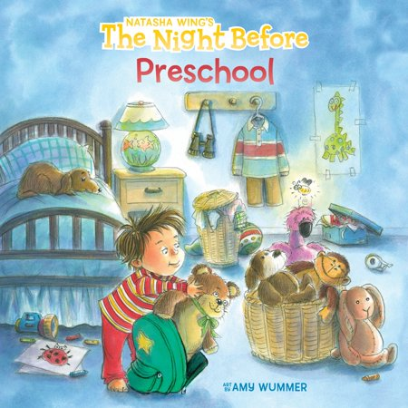 The Night Before Preschool (Paperback) - Night Before Halloween Book
