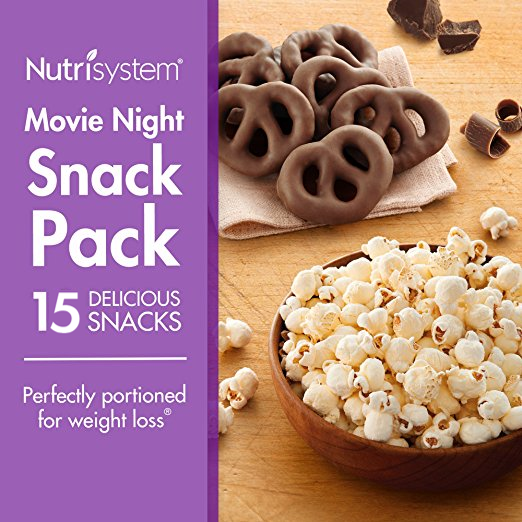 10 ct Nutrisystem Movie Night Snack Pack