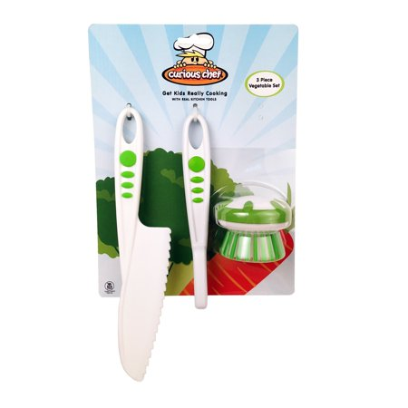 Perfect Chef 3 Piece Tool - CURIOUS CHEF 3 PIECE VEGGIE SET