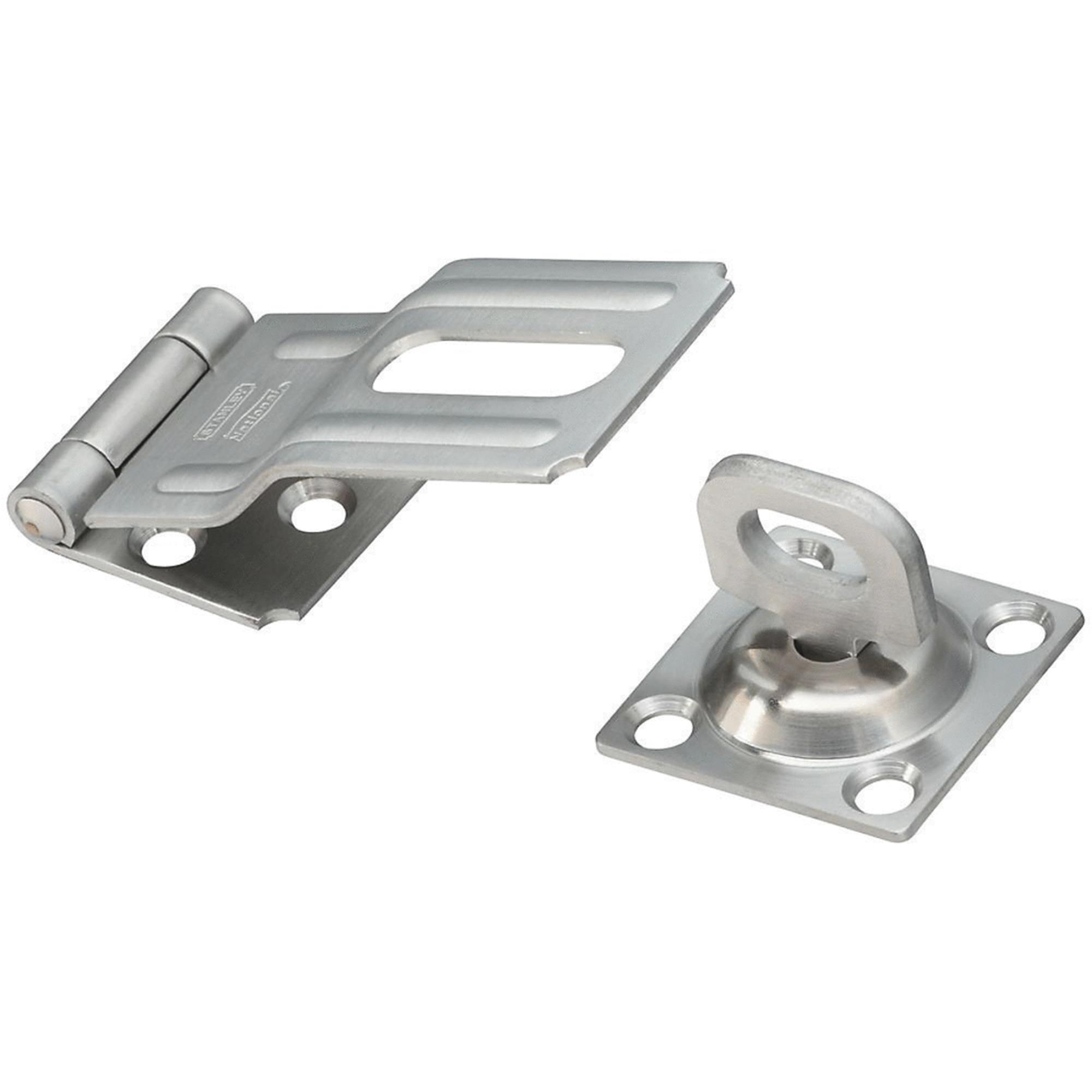 Stainless Steel Swivel Hasp by National Mfg.