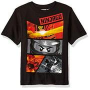 Lego Ninjago Little Boys' T-Shirt, Black, 5/6