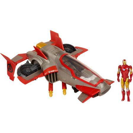 Marine Amphibious Assault Vehicle (Marvel The Avengers Comic Series Iron Man Firestrike Assault Jet)