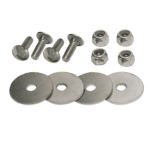 """CARRIAGE BOLT DOUBLE SET fastens 2 """"SNAPLOCS"""" E-Track Singles (5/16 x 1 In.)"""