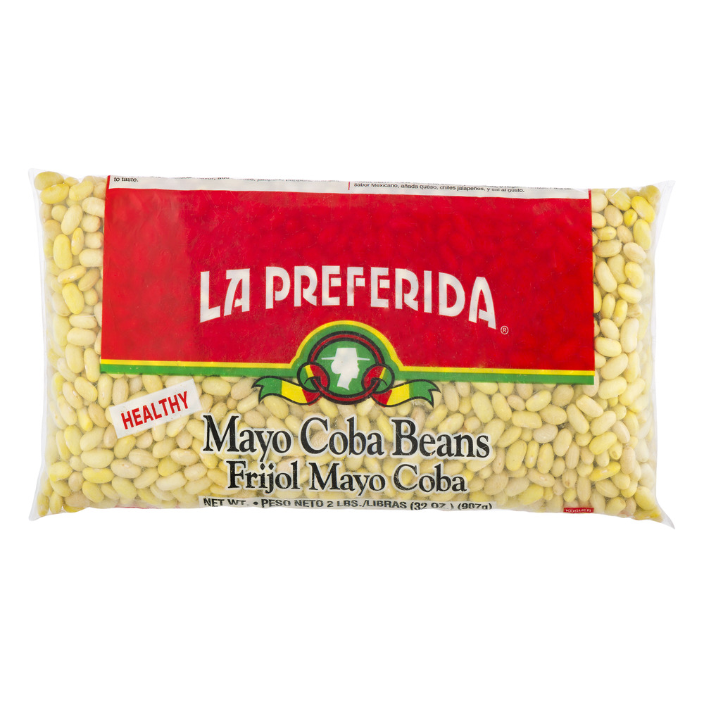 La Preferida Mayo Coba Beans, 32.0 OZ