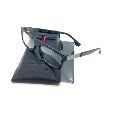 Hugo Boss New Authentic Havana Titanium Italy fashion demo lenses Men Eyeglasses 0089 AQL RUTH 54 15