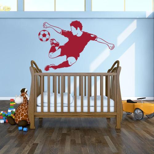 Style and Apply Soccer Star Sport Wall Decal Small