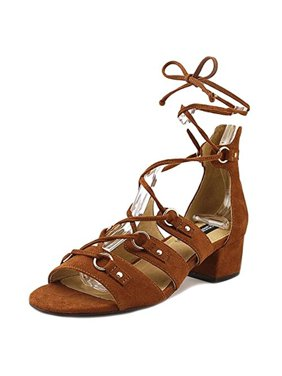Design Lab Womens Eldy Block Heel Dress Sandals