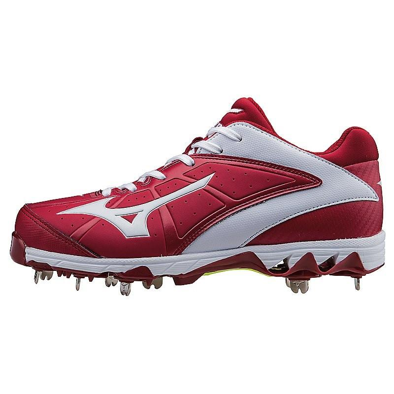 Mizuno 9-Spike Swift 4 Metal Fastpitch Softball Cleat - R...