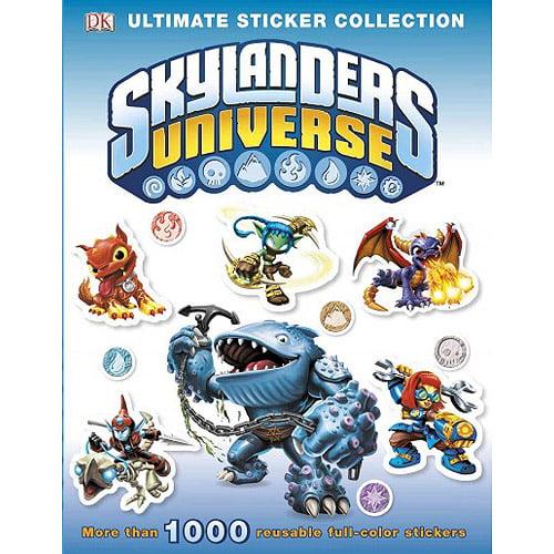 Skylanders Universe Ultimate Sticker Collection