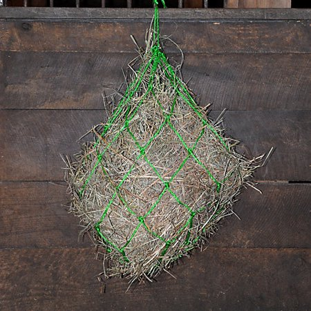 - Nylon Knotted Hay Net Blue