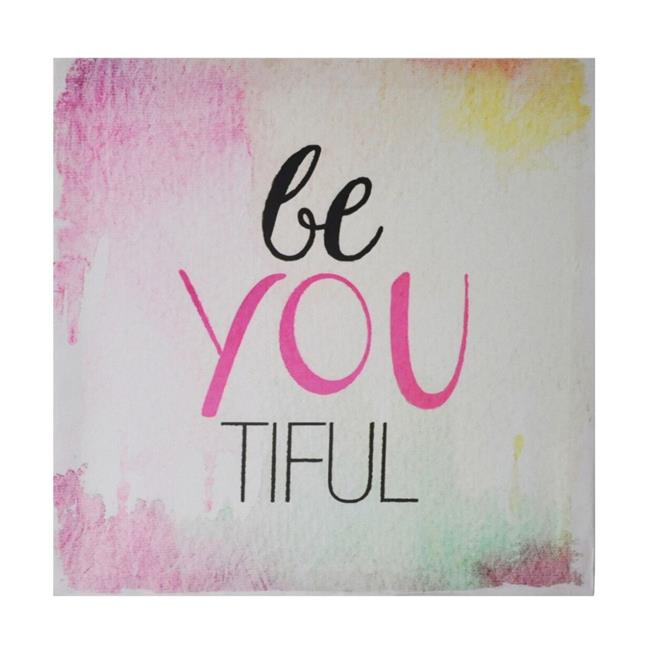 Cheungs 4810 Canvas Wall Sign - Be You Tiful - image 1 de 1