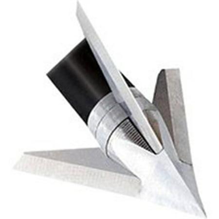 Swept Blade - Quality Archery Designs Exodus Crossbow 125gr Swept Blade Broadhead 3pk, BC125-S