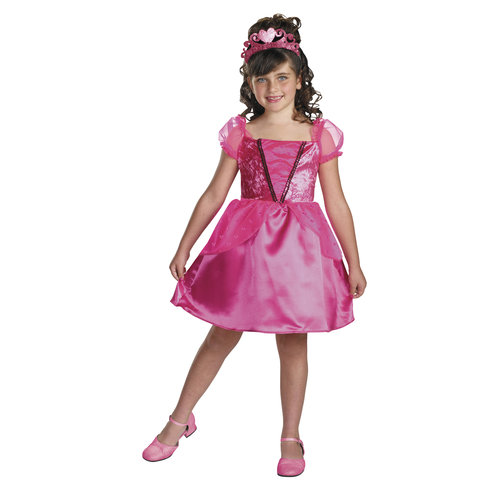 Party Princess Barbie Blister Girl's Costume