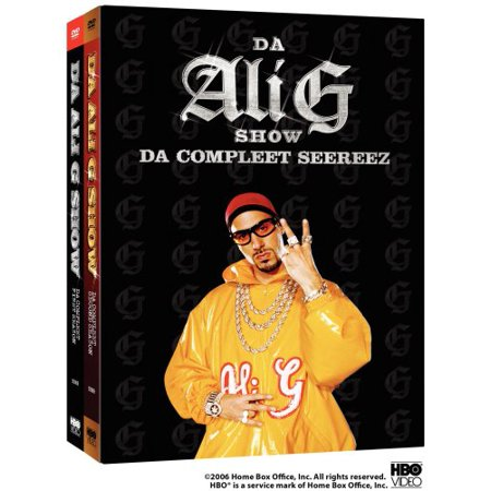 HBO Da Ali G Show-da Complete Seereez [dvd/p&s/4 Disc/s1-2] Nla (Ali G Halloween)