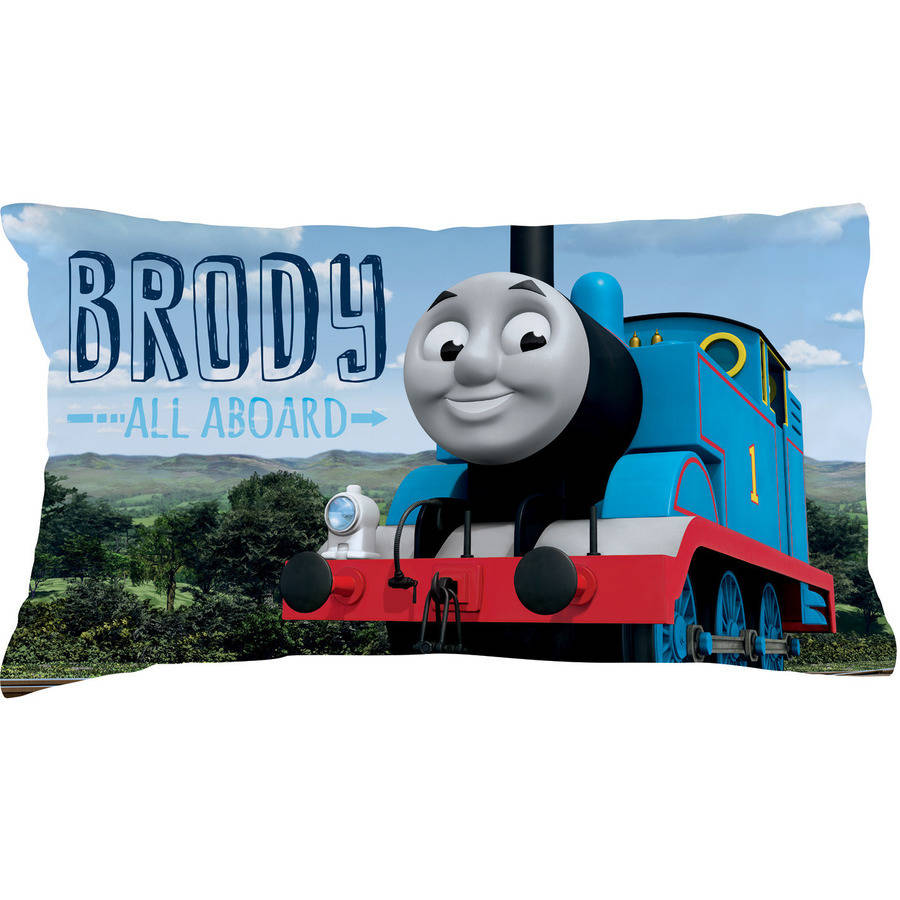 Personalized Thomas and Friends All Aboard Pillowcase