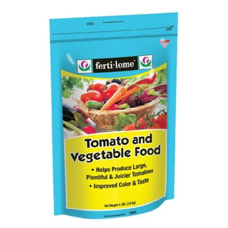 Fertilome 10855 Tomato and Vegetable Food, 7-22-8, 4-Pound, Provides essential nutrients for better growth By Voluntary Purchasing
