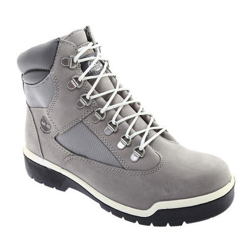 "Men's Timberland Field Boot 6"" Fabric and Leather Waterproof Boot by Timberland"