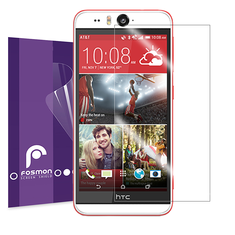 Fosmon Screen Protector Shield Film Guard For Htc Desire Eye Clear