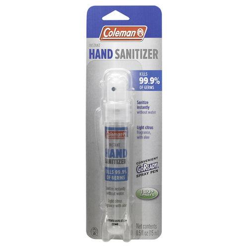 Coleman Hand Sanitizer Spray Pen