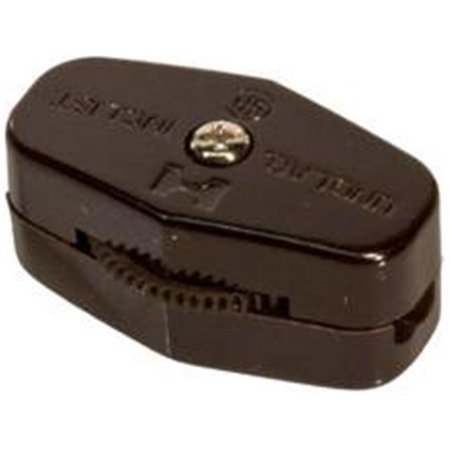Morris Products 70450 Feed Thru Cord Switches Brown - image 1 of 1