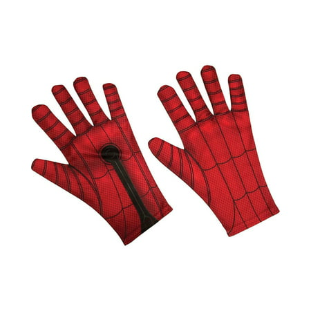 Homecoming - Spiderman Adult Gloves](The Amazing Spiderman Gloves)