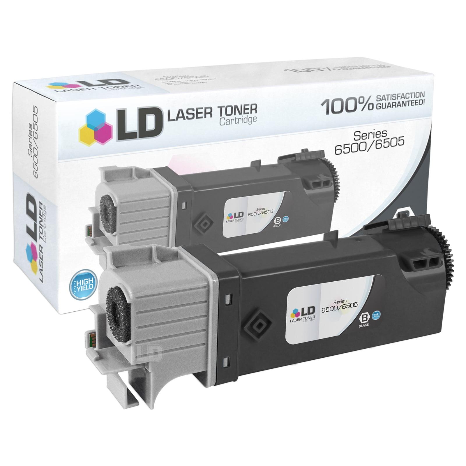 LD Compatible Xerox Phaser 6500 Toner Cartridges:106R01597 BLK, 106R01594 C, 106R01595 M, 106R01596 Y
