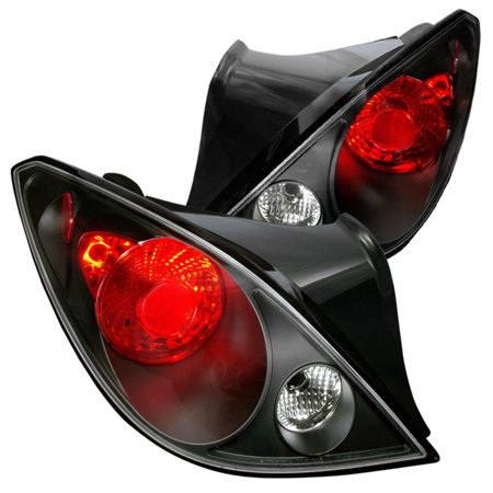 Spec-D Tuning For 2006-2009 Pontiac G6 Black Altezza Tail Lights 2006 2005 2006 2007 2008 2009 2010 (Left+Right)