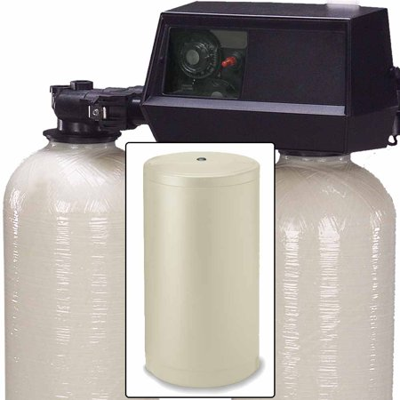 32k Dual Tank Alternating Water Softener with Fleck
