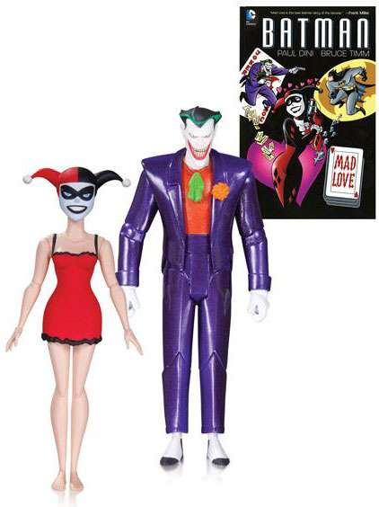 DC Mad Love Joker & Harley Quinn Action Figure 2-Pack by DC Collectibles