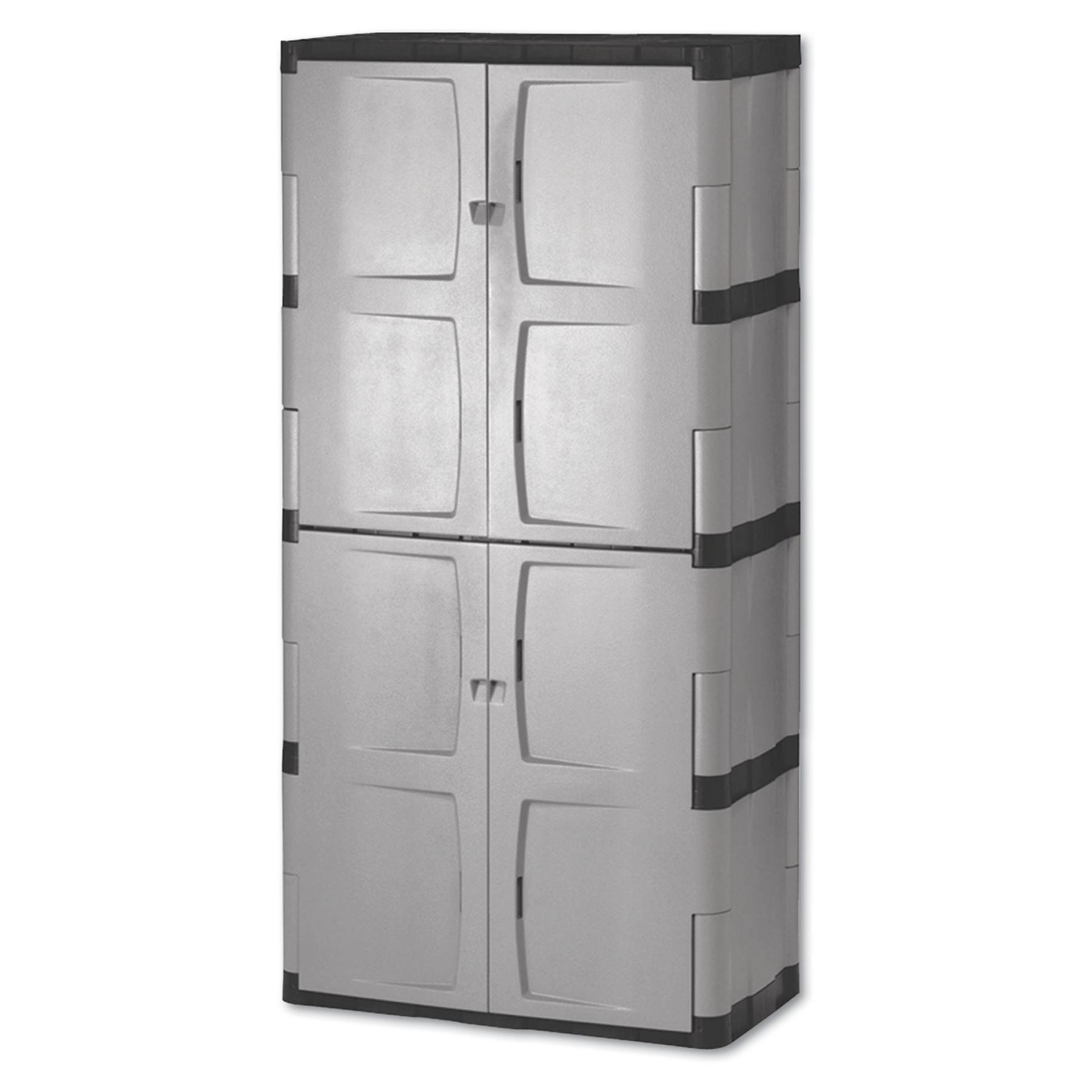Rubbermaid Double Door Storage Cabinet BaseTop 36w x 18d x 72h