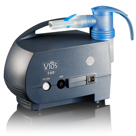 PARI Vios PRO Aerosol Delivery System with LC Sprint - (Invacare Stratos Pro Aerosol Compressor)