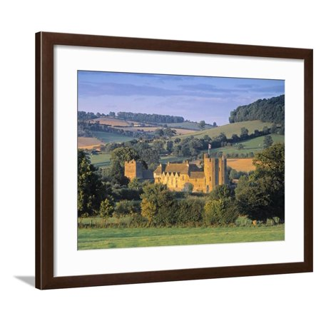 Stokesay Castle, Shropshire, England Framed Print Wall Art By Peter Adams