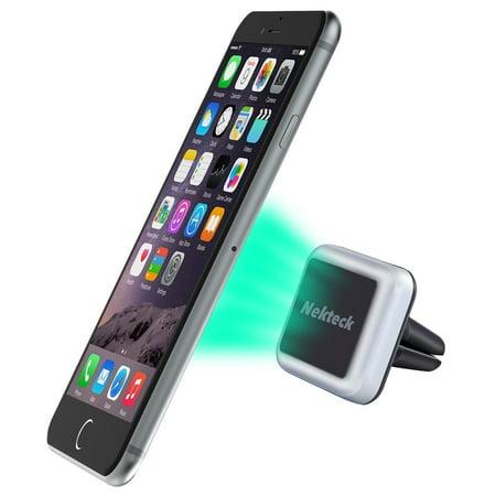 Car Mount, Nekteck Universal Air Vent Magnetic Car Mount Holder for iPhone 7 6 6S Plus 5S 5C 5 SE, Samsung Galaxy S6/S7 Edge Plus S5 Note 5 4 3, LG G5, Nexus 6P 5X More,