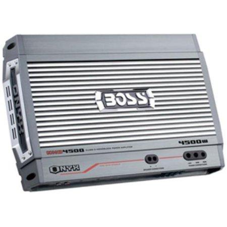 Boss Audio ONYX NXD4500 Car Amplifier - 4500 W PMPO - 1 Channel - Class