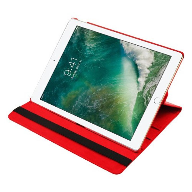 """Apple iPad Pro 12.9"""" Case, by Insten MyJacket Stand Folio Flip Leather Case Cover For Apple iPad Pro 12.9"""", Red - image 3 of 5"""