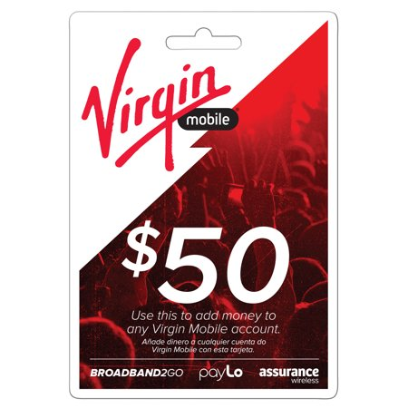 Virgin Mobile Top Up $50 (Email Delivery)