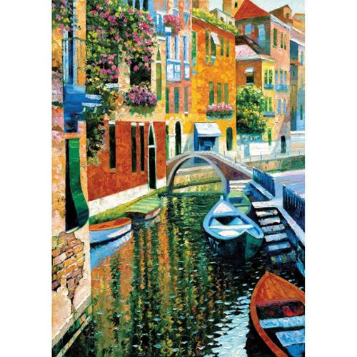 Perre Romantic Canal Jigsaw Puzzle