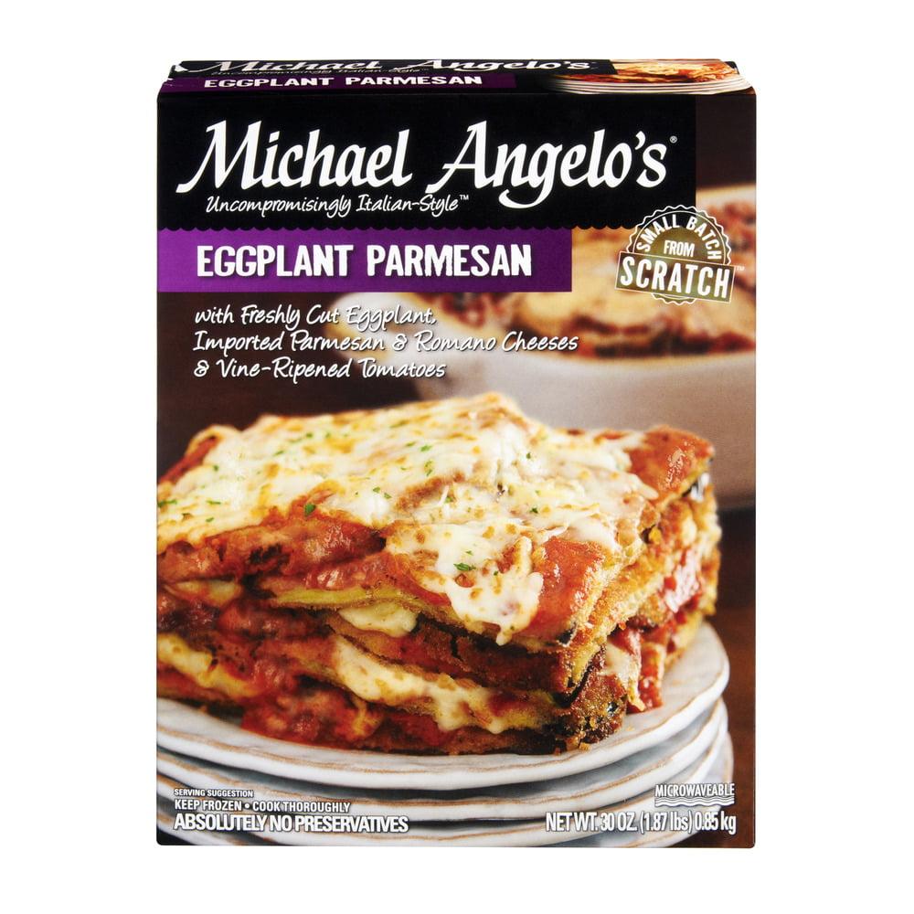 Michael Angelo's Eggplant Parmesan Frozen Entree, 30.0 OZ