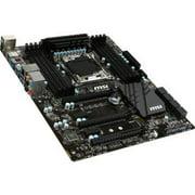 MSI USA X99A RAIDER MSI X99A RAIDER Desktop Motherboard - Intel X99 Chipset - Socket R3 (LGA2011-3) - ATX - 1 x Processor Support - 128 GB DDR4 SDRAM Maximum RAM - 3.33 GHz (O.C.)
