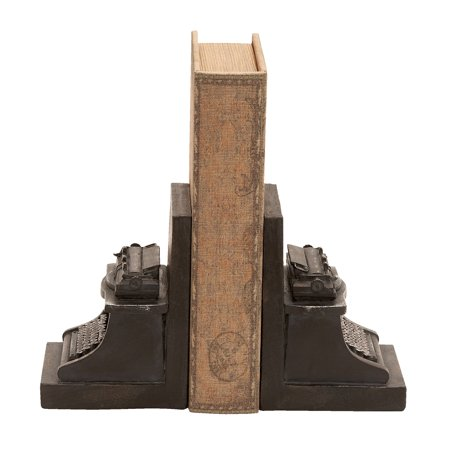 Old Look Typewriter Themed Book End -