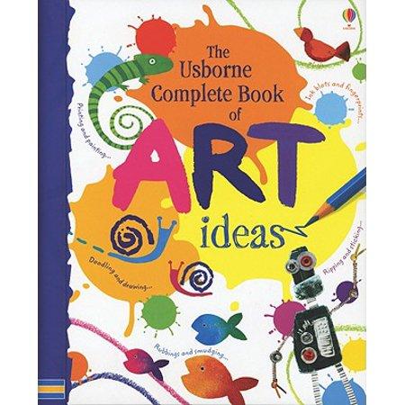 Halloween Art Craft Ideas (Complete Book of Art Ideas)