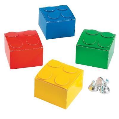 IN-13706145 Color Brick Party Favor Boxes Per Dozen