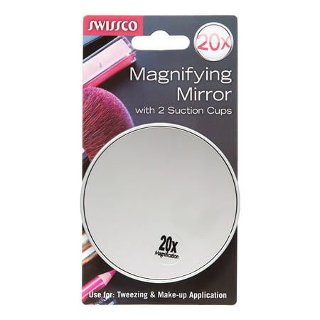 Swissco Suction Cup Mirror 20x Magnification
